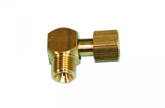 1/4 BSPF X 1/4 BSPF nut Elbow