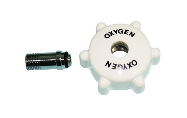 Flow Meter hand wheel kits 1/8 NPT nipple