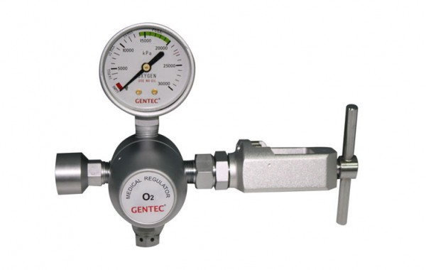 Pin Indexed Oxygen Regulator