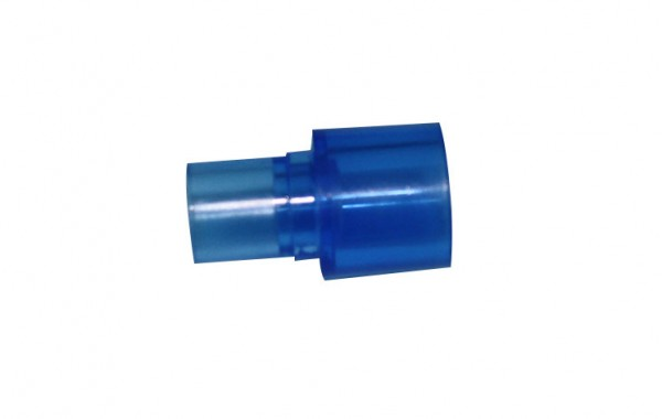22mm Male X 15mm Male Swivell connector (polycarbonate material)