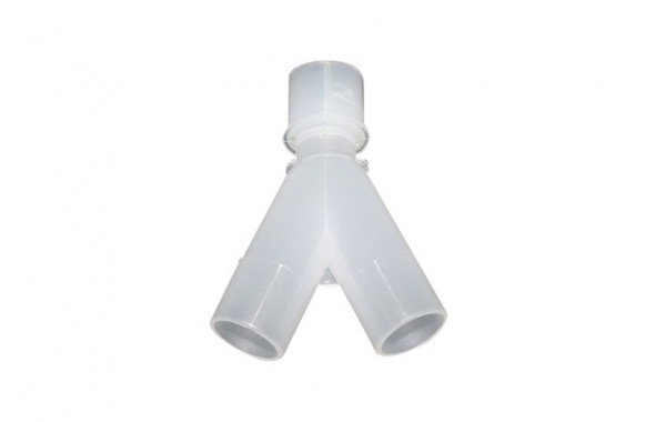22mm Male X 22mm / 15mm Female Bi-wye (polypropylene material)